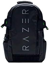 Razer Rogue Gaming - Mochila para computadora portátil (resistente al agua y con forro de TPU interior, llévese su…