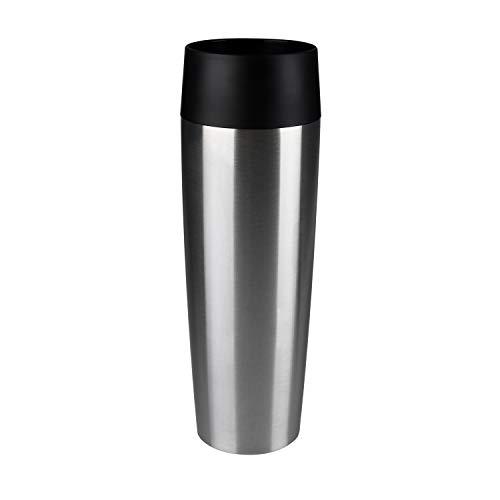Emsa 515614 Travel Mug Standard-Design Grande, Thermobeche, 500 ml, edelstahl -