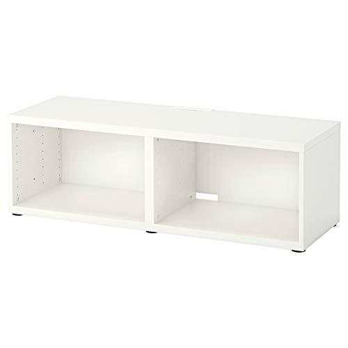Ikea Asie Besta Tv Banc Blanc Amazon Fr Cuisine Maison