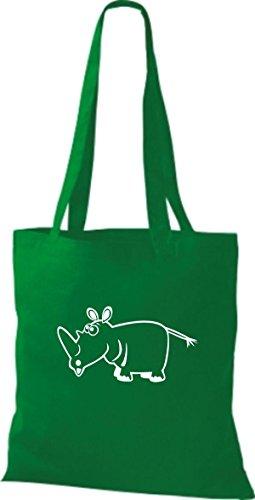 Shirtstown Stoffbeutel Tiere Nashorn Kelly