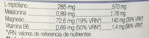 Ana Maria Lajusticia Triptófano con Melatonina y Vitamina B6 , 60 comprimidos - Mejora la calidad del sueño, refuerza el sistema inmunológico y disminuye el cansancio y la fátiga.