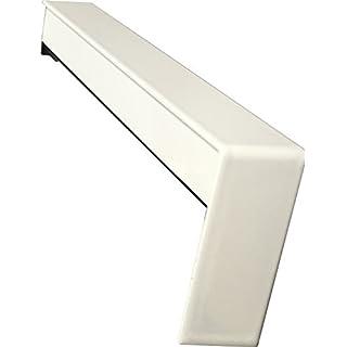 Fensterbank Gleitabschlüsse 300 mm in Weiß