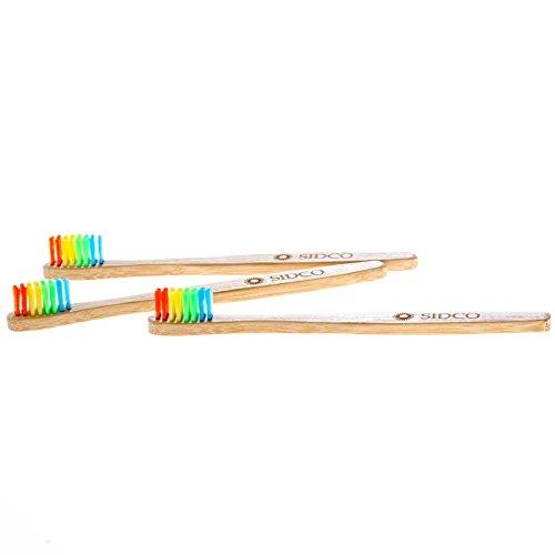 SIDCO Zahnbürste für Kinder – 3 Stück - 4