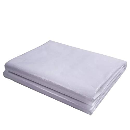 M-BU Im Freien wasserdichte wasserdichte Segeltuch-Schattierung, die Vielzweck mit Polyester-Gewinde mit Metallloch, 7 Größen-Qualität 180G / M2 faltet (Size : 4 * 8m)