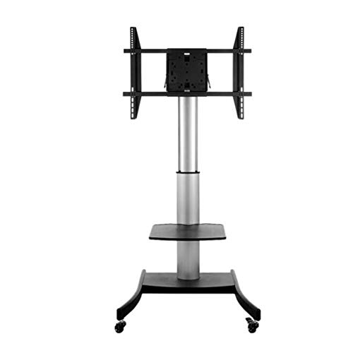 Exing Mobile TV-Cart, LCD-LED-Plasma Plasma Flat Panel Stand Mount Adjustable Höhe Lockable Wheels Mobile Office Home-Funktion Rack Universal Fits 40