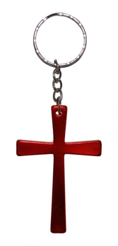 croix-porte-cls-rouge-red-cross-keyring
