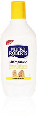 Neutro Roberts - Shampoo 2 in 1, Extra Delicato - 500 ml