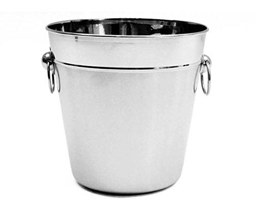EISEIMER 13cm Edelstahl Sektkühler Eisbehälter Eiswürfel Eiswürfelbehälter 15A