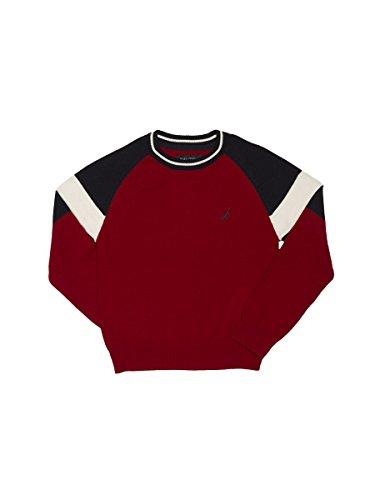 Nautica Jungen   Pullover  -  rot -  (Nautica Pullover Für Jungen)
