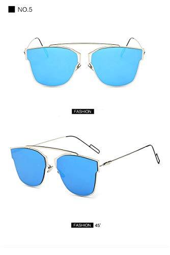 Wghz UltrEin Licht Augenschutz Schatten Persönlichkeit Sonnenbrille Frauen Reflektierende Spiegel Sonnenbrille Für Frauen