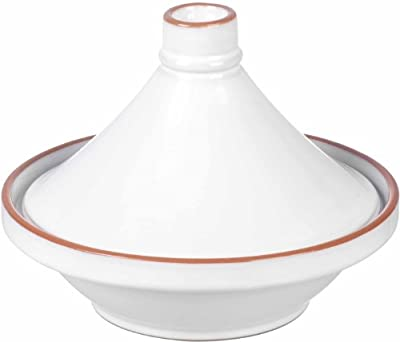 Ceramic Tagine - White from Parlane