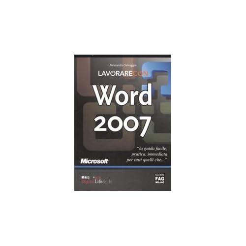 Lavorare Con Word 2007