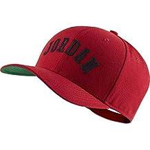 d89266355 Nike Jordan Clc99 Jumpman Air Gorra, Unisex Adulto, (Gym Red/Pine Green