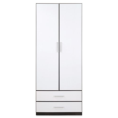@home by Nilkamal Aston 2-Door Wardrobe (White)  available at amazon for Rs.12900