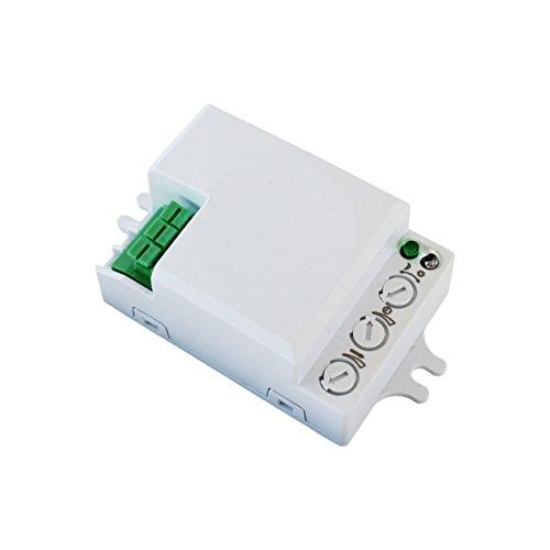 500W Bewegungsmelder Mikrowellen Radar Sensor Schalter Präsenzmelder 360° -
