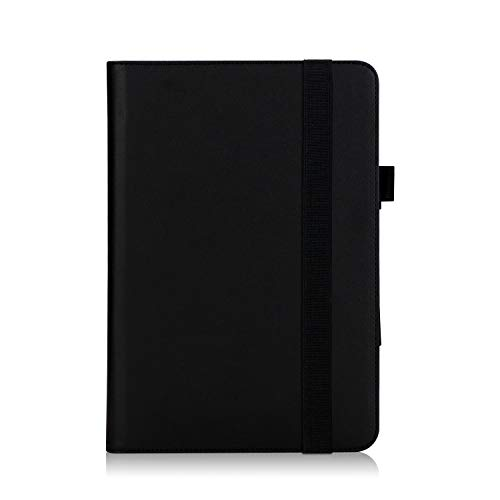 Convertible Tablet-fall (ISIN ASUS T103HAF Hülle, ASUS Transformer Mini T103HAF 10,1 Zoll Convertible Tablet-PC Schutzhülle Tasche Stand Cover mit Handschlaufe,Stift Halter und Kartenschlitz (Schwarz))