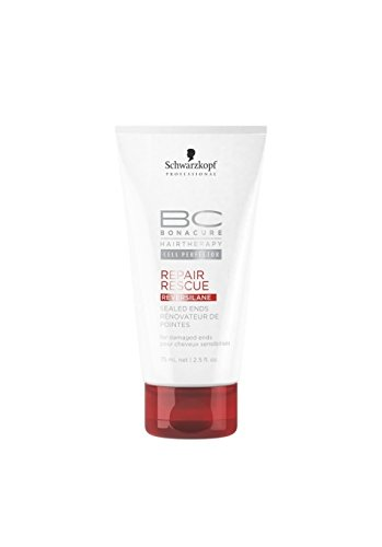 Ends Sealed Schwarzkopf Von (Schwarzkopf BC REPAIR RESCUE Sealed Ends 75 ml)
