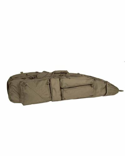 Mil-Tec Tactical Rifle Case SEK Padded Gun Bag Backpack Straps Airsoft Shooting Olive