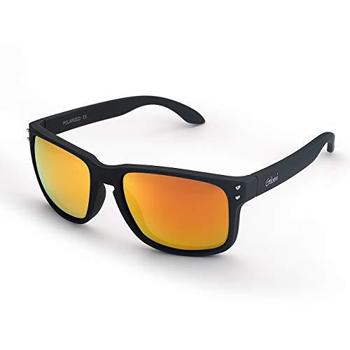 507a71ec79 Glomi Gafas de sol Polarizadas de Wayfarer para Hombres y Mujeres,  Protección UV400, Antideslumbrante
