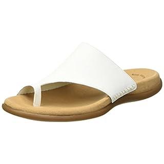 Gabor Shoes Damen Jollys Pantoletten, Weiß (Blanc Leather), 38 EU
