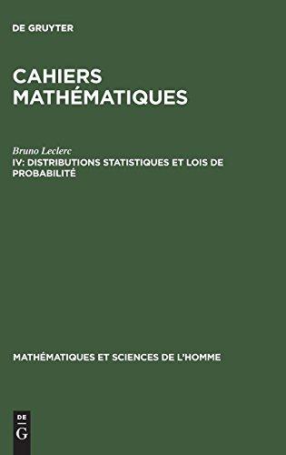 Distributions Statistiques Et Lois De Probabilité