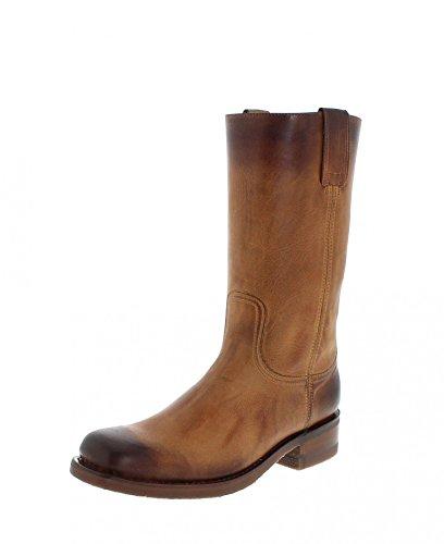 Sendra Boots 3162 Teak Usado Marron Lederstiefel für Damen und Herren Braun Classic Boots, Groesse:46