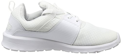 DC Shoes  Heathrow Se, Sneakers basses femme Blanc (Wg1)