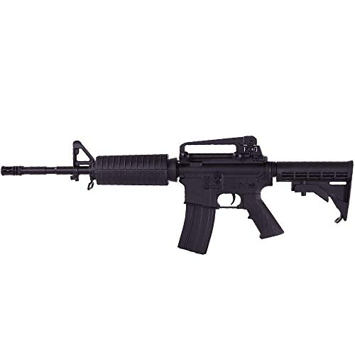 E&C M4a1 Full métal - Rifle Airsoft electrico-Negro Calibre 6mm.- Potencia 1...