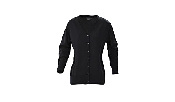 Womens 100% Super Soft Cotton Cardigan, Black, Grey or Navy