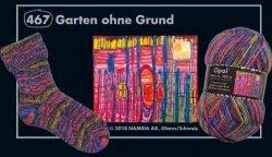 Opal Sockenwolle Hundertwasser III - Garten ohne Grund 467 -