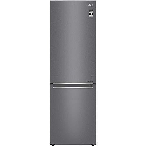 LG GBP31DSLZN 186x60cm 341L Freestanding Frost Free Fridge Freezer - Silver