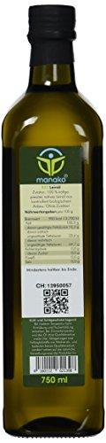 manako ® BIO Leinöl human, kaltgepresst, 100% rein, (1 x 0,75 l) - 2