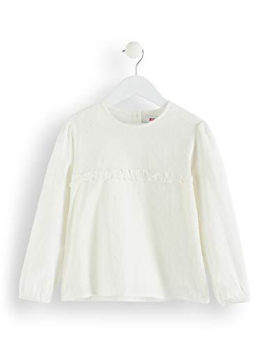 RED WAGON Mädchen Bluse mit Rüschen und Punktemuster, Weiß (Ivory), 104 (Herstellergröße: 4 Jahre) (Niedliche Outfits Mädchen Für Für Die Schule)