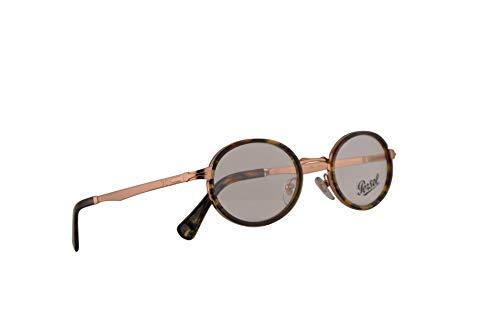 Persol 2452-V Brillen 48-21-145 Bronze Braun Tortoise Mit Demonstrationsgläsern 1080 PO 2452V PO2452V PO2452-V