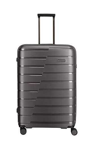 Travelite Hartschalen-Koffer-Serie 'AIR BASE' von travelite in 2 Farben: unverwüstlich, funktional, cool Koffer, 77 cm, 105 L, Anthrazit