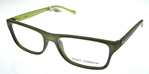 Dolce & Gabbana Men's 5009 Over Molded Rubber Semi-Transparent Green Rubber Frame Plastic Eyeglasses