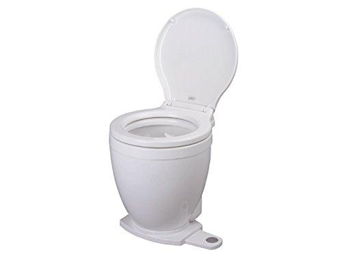 Jabsco betriebenen Lite Flush Compact 12Volt elektrische Toilette mit Panel Marine Control (Elektrische Flush Toilette)