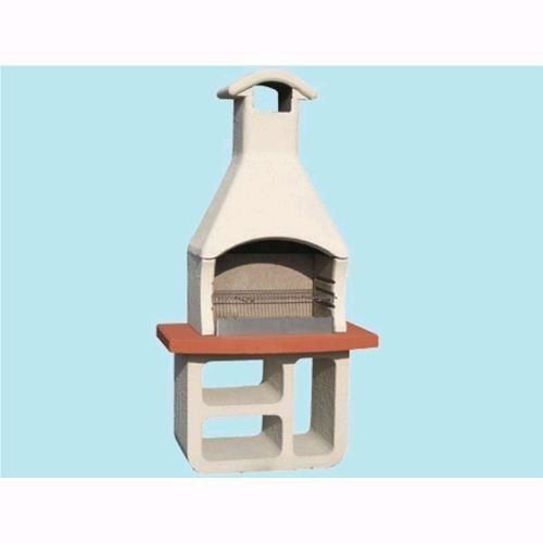 Barbecue beton tizzo in cemento con griglia 114x67xh214cm – kg. 410