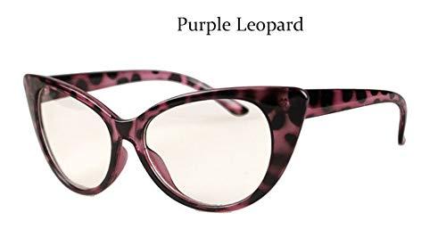 MOJINGYAN Sonnenbrillen Mode Brillen Cat Eye Optische Gläser Frauen Transparente Brillenmarke Designer Vintage Clear Lens Frame, E