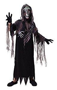 Kapuzen-Terror Reaper - Halloween-Kostüm - Kinder Kostüm - Large - 134 bis 146cm