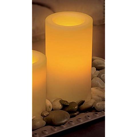 Inglow, CGT 54600, Ponticello cavi tremolanti candele batteria fragranza senza
