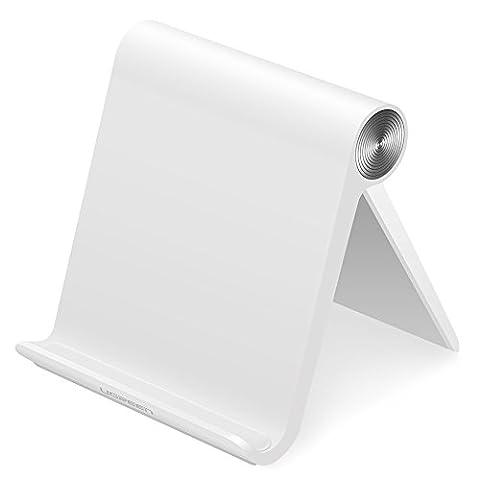 UGREEN ipad Ständer Tablet Halterung Multi Winkel Ständer Tablet Ständer für iPad Pro 10.5/9.7, iPad Air 2, iPad mini 1 2 3 4,iPad 2 3 4 5 bis zu 12 Zoll, Samsung Galaxy Tab S2/S3/Pro, Fire HD7/8 Tablett, Google Nexus 7 / 10,Lenovo Tab, Sony Xperia Tablet, E-Reader usw Weiß