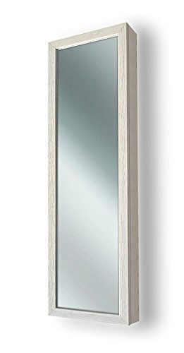 Spiegel Aufbewahrungsbox 37x 120x 11,5cm Ahorn (Ahorn Spiegelschrank)