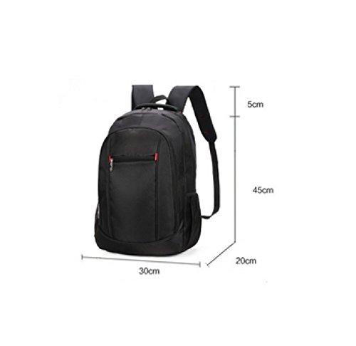 LAIDAYE Menschen Auf Die Schultern Rucksack Geschäftsreisen Business Freizeit Mehrzweck- Reiserucksack Black