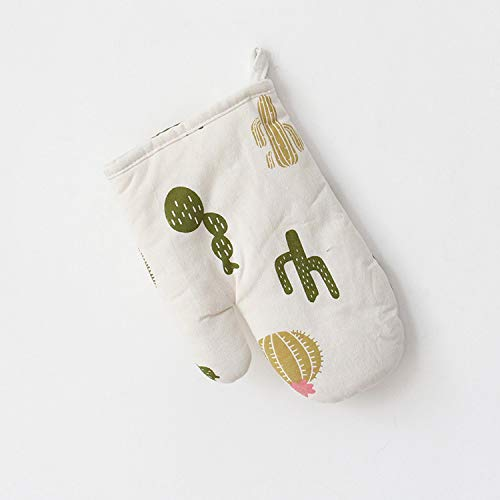 SNOLEK Guantes aislantes Largos de algodón y Lino engrosados Color Cactus 24.5...