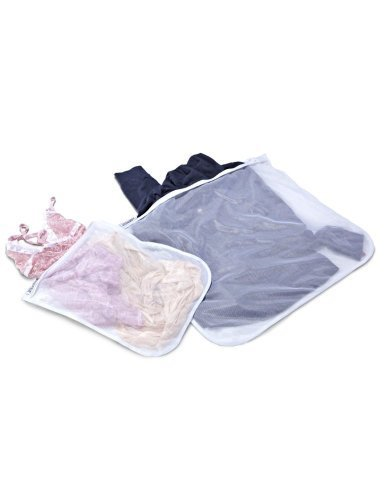 Laura Ashley Mesh Wash Bags - Set of 2 by Laura Ashley