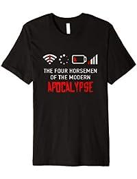 Die vier modernen apokalyptischen Reiter T-Shirt   Nerd Geek