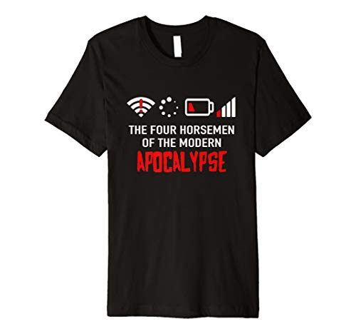 Die vier modernen apokalyptischen Reiter T-Shirt | Nerd Geek