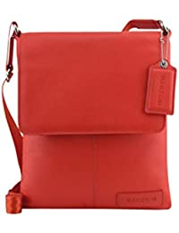 c22f484d5787 Manzoni Red Leather Crossbody