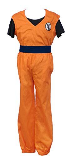Chong Seng CHIUS Cosplay Costume Training Uniform Outfit for Kakarot Son Goku Kaio Ver 1